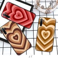 Чехол для мобильного телефона Latte Love Coffee в форме сердца, чехол для Huawei P9 P10 P20 P30 Lite 2016 2017 2019 plus pro P smart