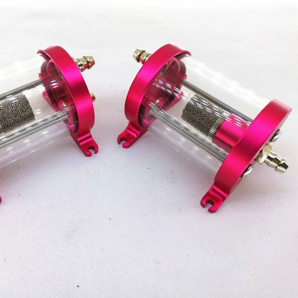 UAT 35ml  CNC Air Trap Tank with fuel filter for turbine jet enlarge