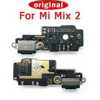Original Charger Dork Connector Charging Port For Xiaomi Mi Mix 2 USB Plug PCB Charge Board Flex Cable For Mi Mix2 Spare Parts