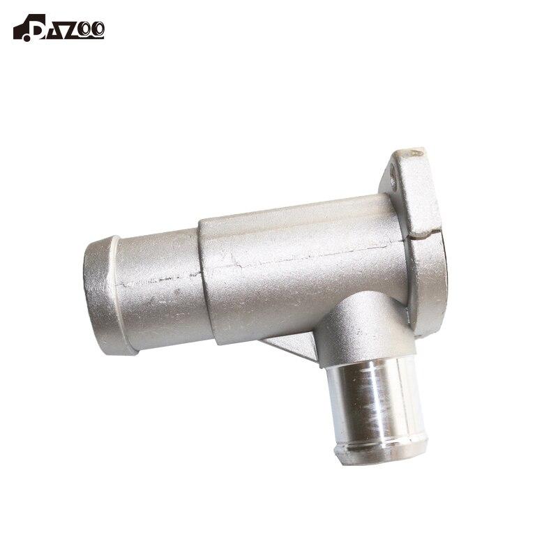 DAZOO 037121133B tubo manguera refrigerante de aleación de aluminio conector para Passat Golf Sharan P olo