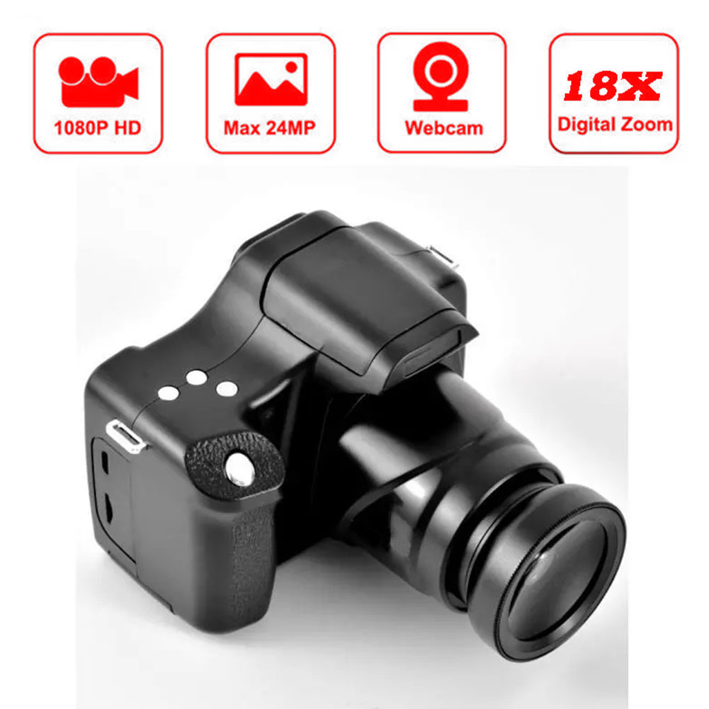Cameras HD 1080P Digital Video Camcorder Professional 18X Digital Zoom Recording Anti-Shake Camcorder With Wide-Angle Lens enlarge