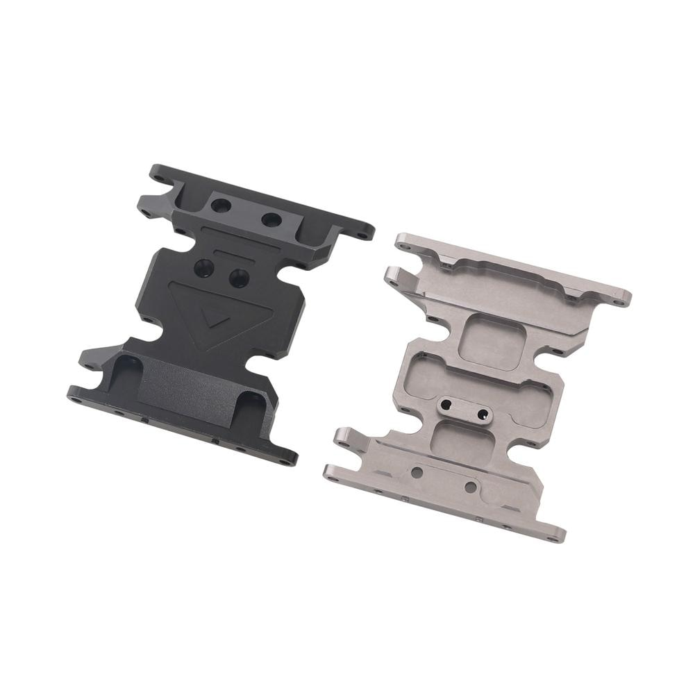 1/10 CNC Alloy Gear Box Mount Holder for Rc Crawlers Axial SCX10 D90 D110 Remote Control Car Accessories enlarge
