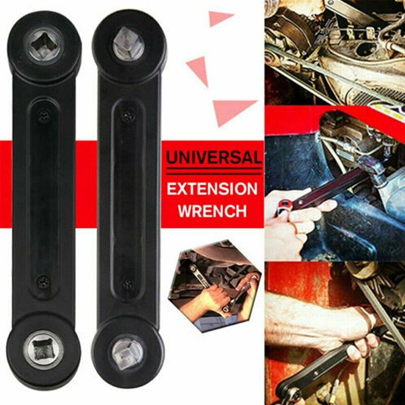 ¡Novedad! llaves de extensión universales de 3/8 pulgadas llave dinamométrica DIY Llave de trinquete llave de coche herramienta manual de reparación NE