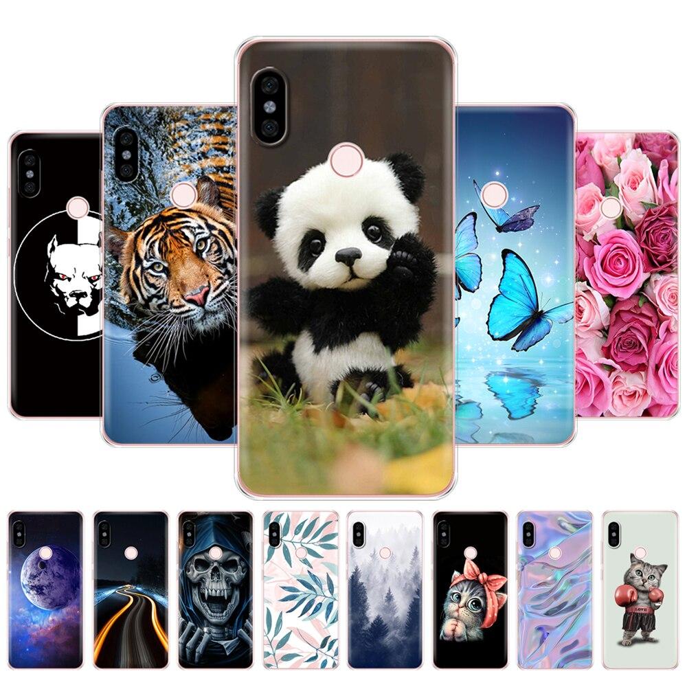 Para xiaomi Redmi Note 5 versión global caso silicona de tpu blando...