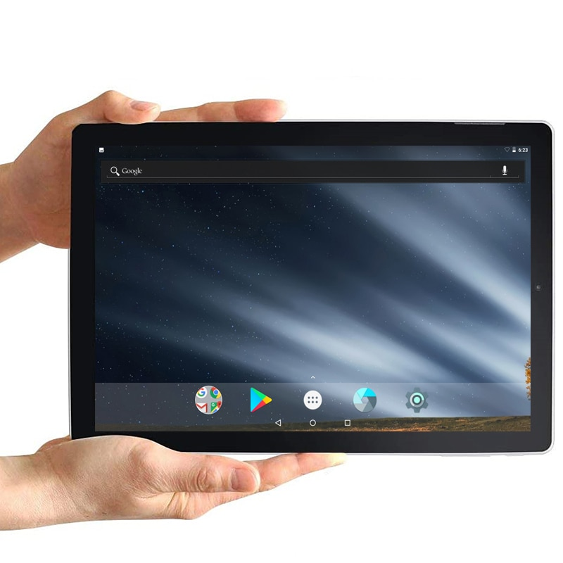 Android 7.1.1 Tablet 10 Inch 2GBDDR3+32GB eMMC Allwinner A64 QuadCore Bluetooth-Compatible 1280 x 800 FUll HD IPS Screen