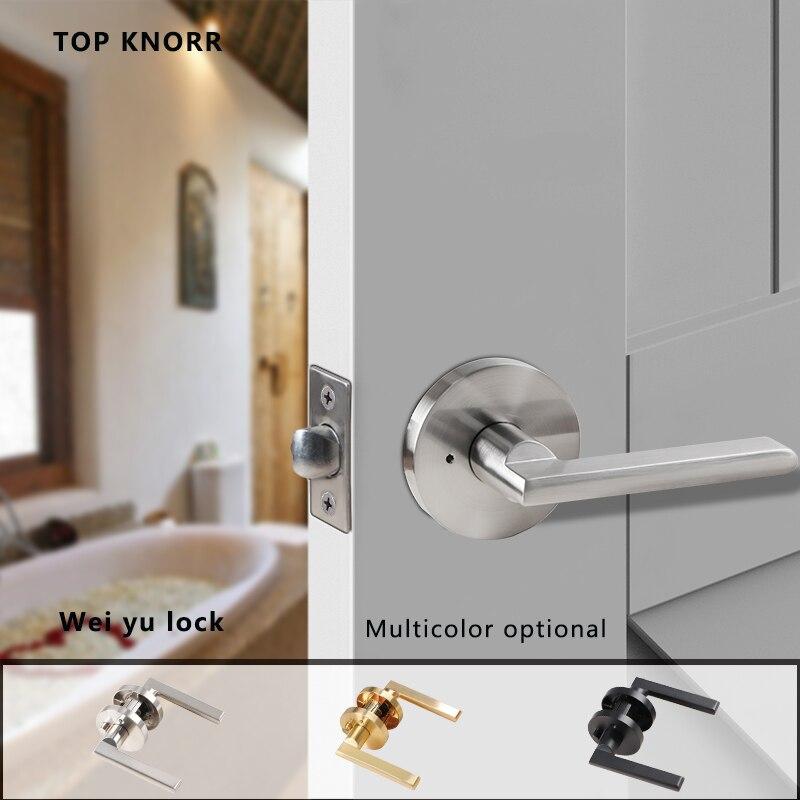 عالية الجودة سبائك الزنك النمط الأمريكي مقبض قفل ثلاثة قضيب كروية قفل الباب غرفة نوم أثاث الحمام الأجهزة