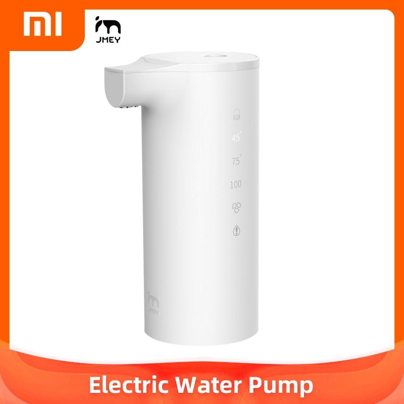 XIAOMI Youpin JMEY-dispensador de agua, bomba de agua embotellada eléctrica inmediatamente calentada, calentador de agua portátil, cerradura inteligente para niños