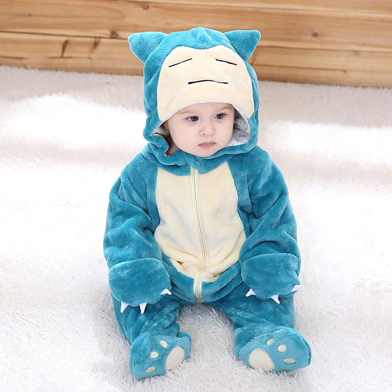 Baby Romper Infant Cute Clothes 0-3 Y New Born Boy Girl Clothes Funny Baby Costume Soft Warm Outfit