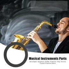 Musical Instruments Zubehör Saxophon Trompete Horn Schalldämpfer Schutz Ringe Bläser Instrumente Ätherisches Liefert