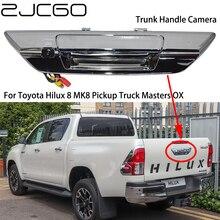 ZJCGO CCD caméra arrière Toyota Hilux 8 MK8   Caméra de coffre de stationnement, caméra de ramassage Masters OX AN120 AN130