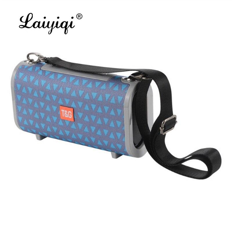 Laiyiqi-Bolsa de cinturón portátil de tela colorida, impermeable, Radio FM, portátil, para...