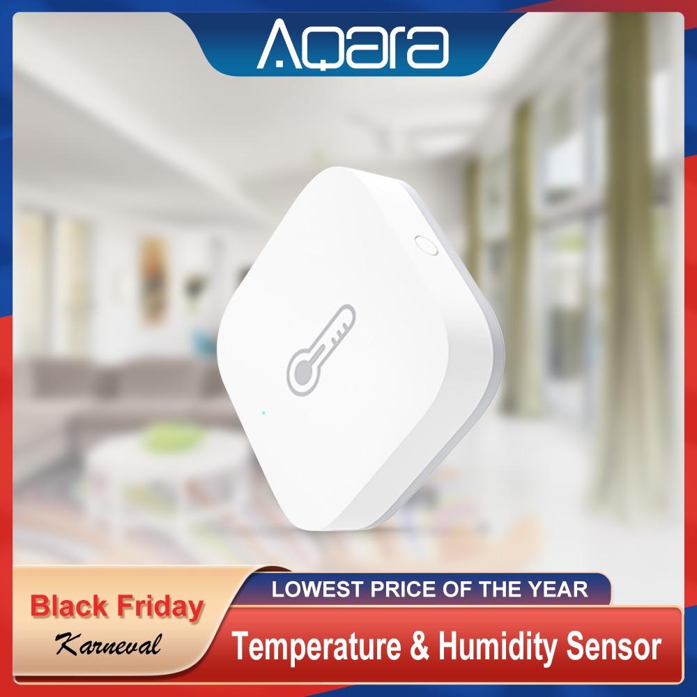 Aqara Zigbee Wireless Temperature Humidity Sensor For Smart Home Kit Thermometer Hygrometer Mijia Te