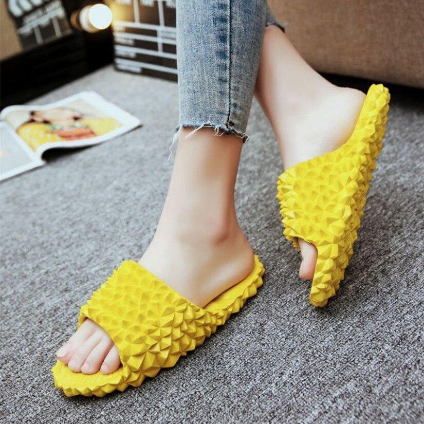 Chinelos durian para áreas internas e externas, chinelos fofos para meninas e meninos, sapatos de praia, moda feminina, sh342, 2020