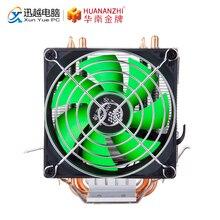 HUANANZHI A300 2 caloduc ventilateur CPU radiateur refroidisseur dissipateur de chaleur pour Intel 115X 1366 2011 AMD plate-forme 90mm PWM 4PIN PC ventilateur