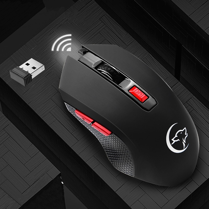 PC Mouse Wireless Ergonomic For Notebook Silent Gaming Mice 6 Buttons 2400DPI Optical USB Office 2021 Computer Accessories Mouse
