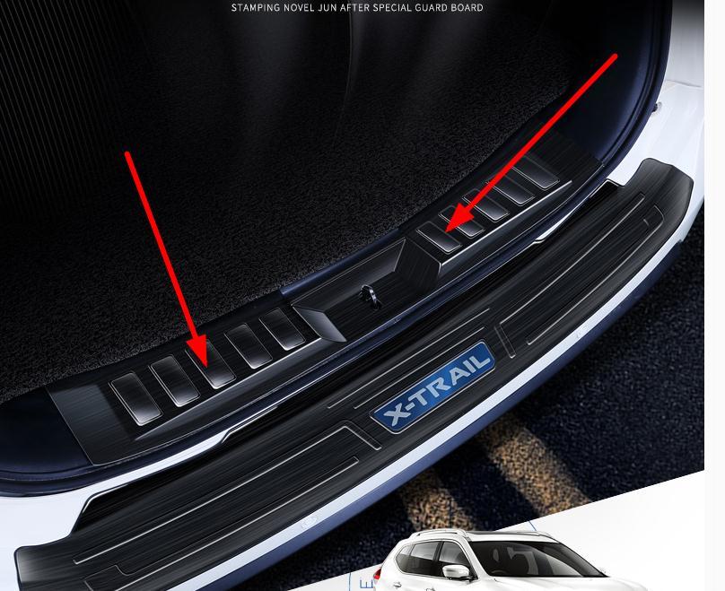 Para Nissan x-trail X Trail T32, 2014, 2015, 2016, 2017, 2018, 2019, Protector de Parachoques Trasero Rogue, Protector de maletero, accesorios para coche