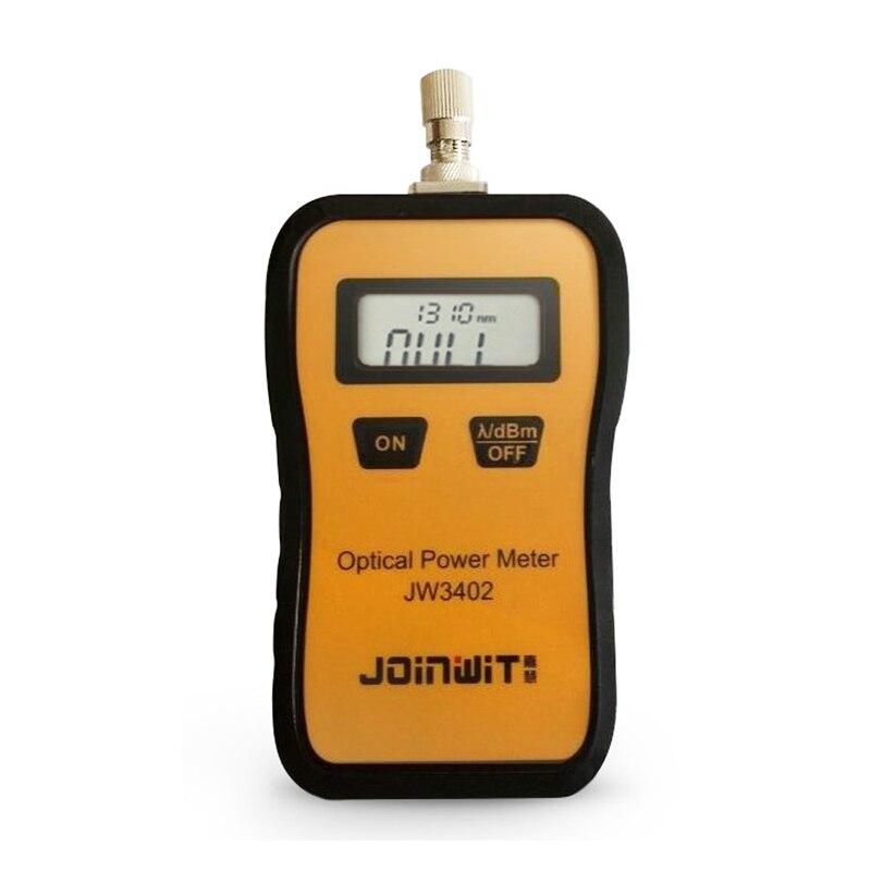 جوينت-مقياس طاقة الليزر البصري JW3402 ، مقياس الطاقة الضوئية 50 ~ 26dBm ، جهاز اختبار الألياف