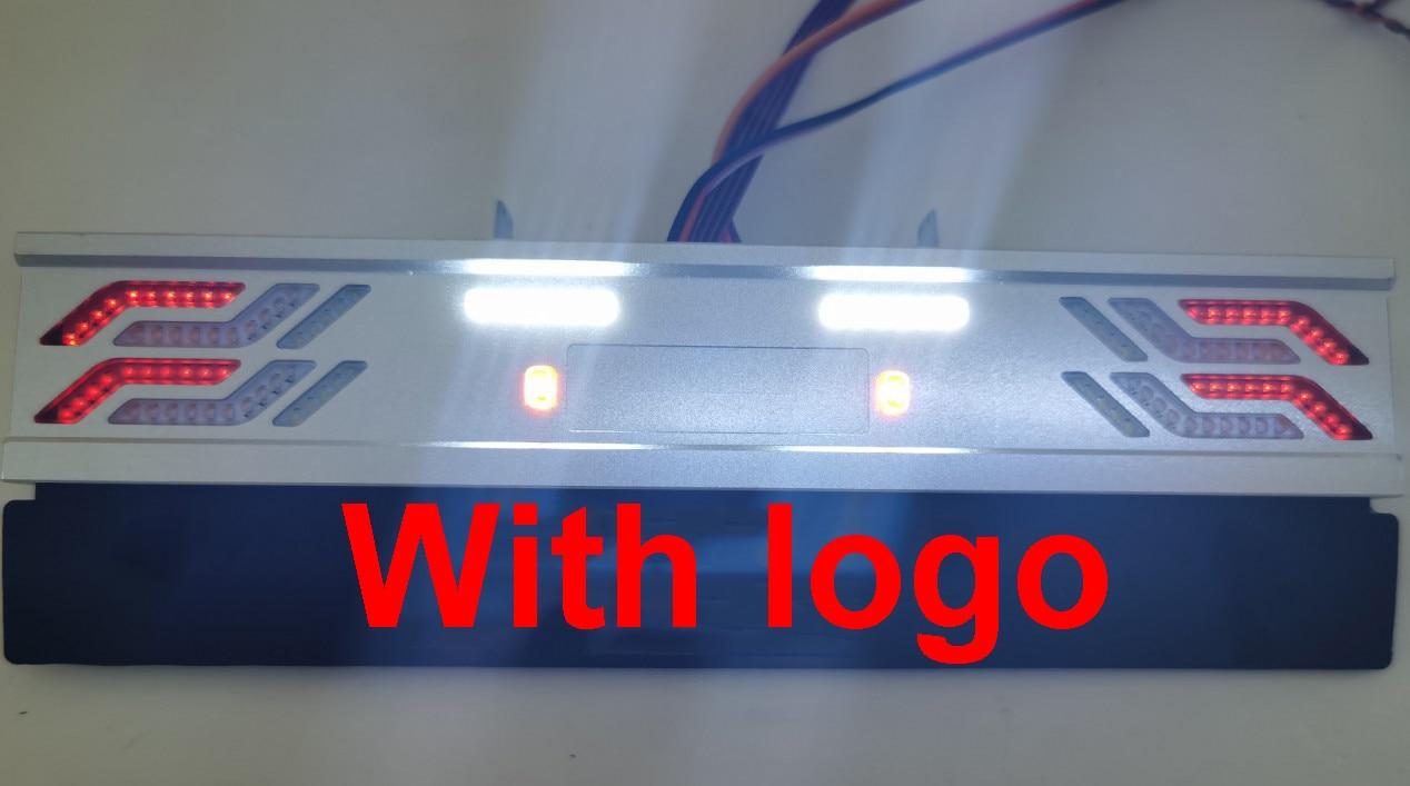 Metal LED Dynamic tailligh Flowing lights PCB Lamp For 1/14 Tamiya RC Truck car SCANIA r620 VOLVO fh16 ACTROS MAN tgx Refit DIY enlarge