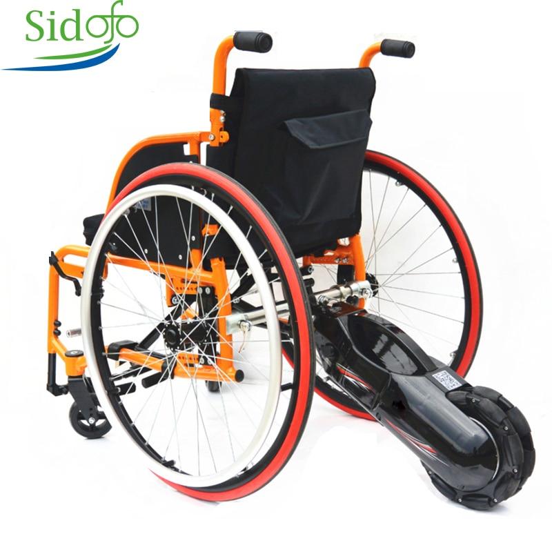 Motor de engranaje de 8 pulgadas 24V 250W, silla de ruedas eléctrica, batería de litio, Tractor DIY, Kits inteligentes de conversión asistida por energía trasera