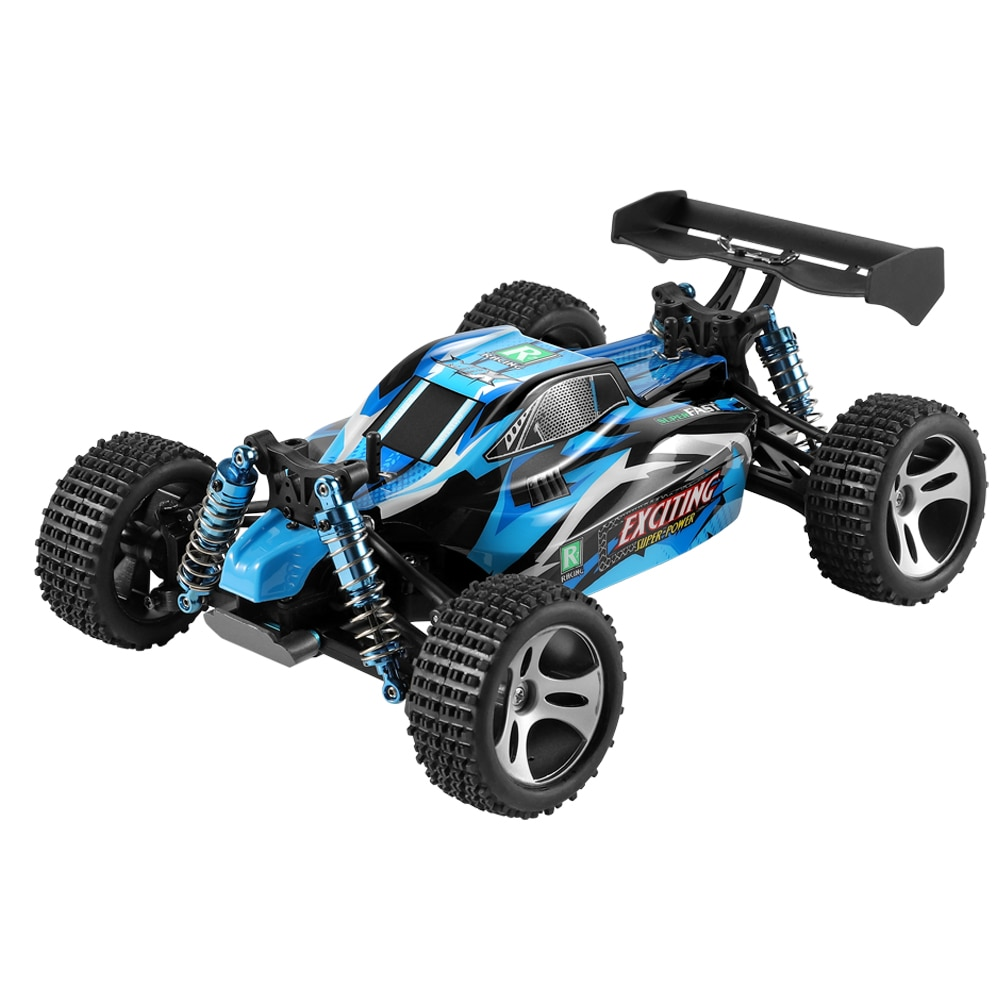 Wltoys 18401 RC Car 1/18 2.4G 4WD Vehicle Models Full Propotional Control High Speed 30km/h Off-road Vehicles enlarge