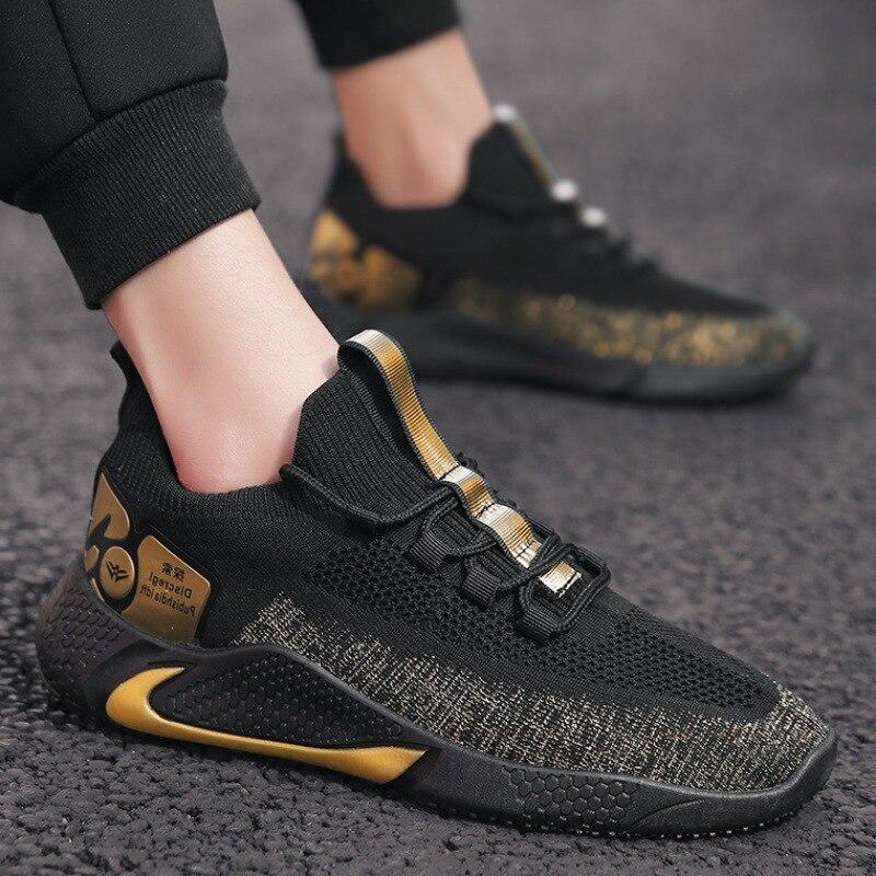 Zapatillas deportivas de verano para hombre, zapatos informales transpirables a la moda, novedad de 2021