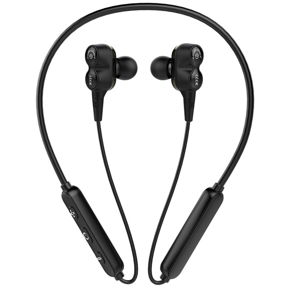 Wireless Earphone Collar Earphone Wireless Earphone Long Standby Waterproof Multifunctional Compatibility Strong
