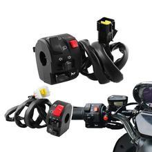 Geändert Lenker Controller Für Motorrad Abs Kunststoff Und Metall Und Gummi Kombination Schalter 12V 22Mm 1 Paar