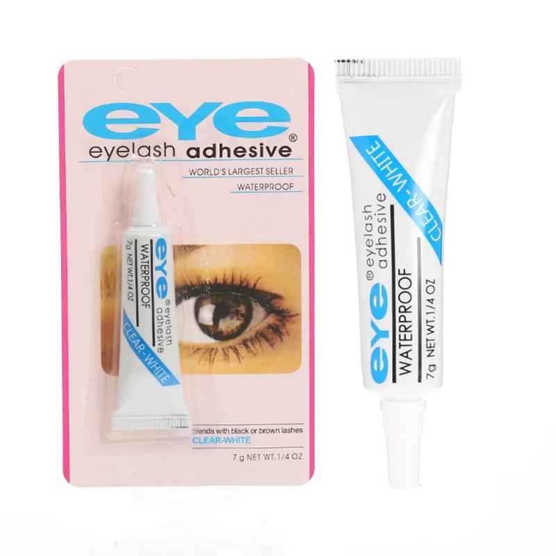 pro eye lash Lash Glue Clear-White Black Waterproof False Eyelashes Makeup Tools Lash Extension Supplies Eye Lash Glue Professional Eyelash