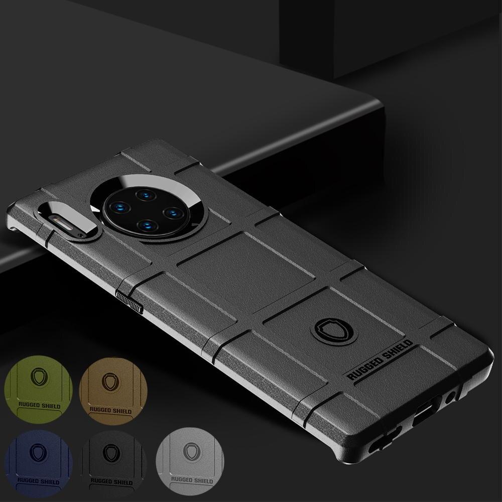 Funda trasera para Huawei Mate 30 Lite Pro 5G funda protectora TPU suave en mate 30 pro 5g fundas a prueba de golpes Accesorios
