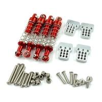 Металлические регулируемые амортизаторы + амортизатор для WPL C14 C24 MN D90 D91 D99S Запчасти для модификации радиоуправляемых автомобилей