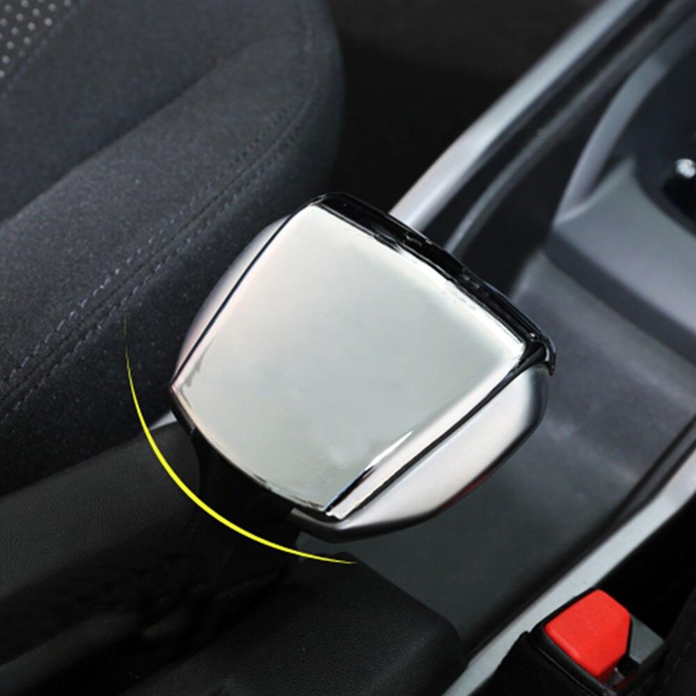 Daefar, cubierta de freno de mano Interior de coche, pegatinas de freno de mano para Peugeot 2008 2014 2015 2016 2017 2018 Accesorios