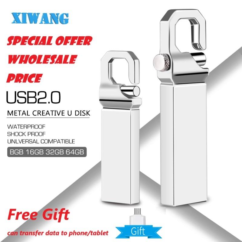usb flash drive 32gb metal pendrive 8gb gold USB stick 64gb pen drive 16gb USB memory disk 128gb 4gb wholesale free custom logo