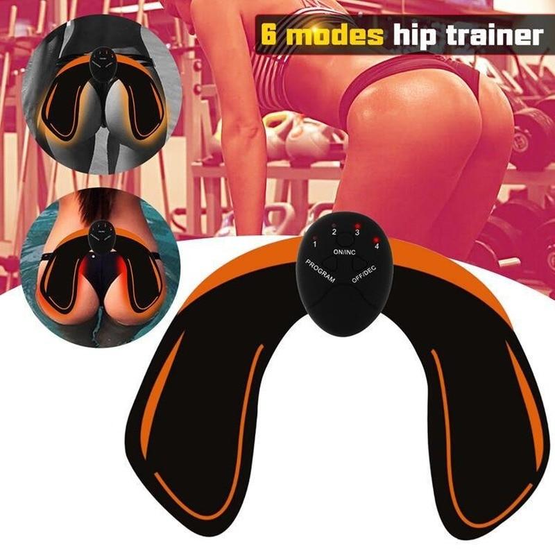 Стимулятор мышц, массажер для EMS, электростимуляция, хиптренажер для ягодиц, лифтинг, фитнес-тренажер, тренажер для гимнастики, ягодиц, оборудование для красоты