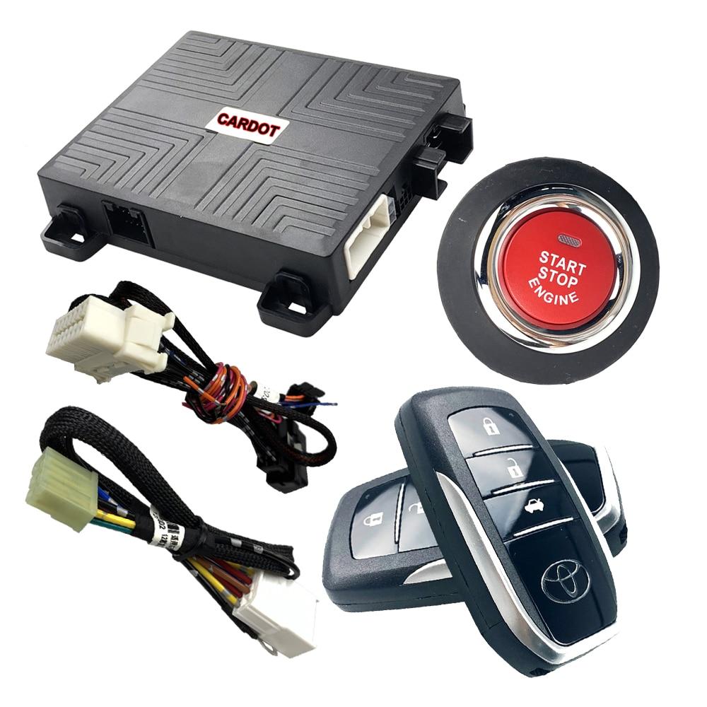 Cardot-Alarma de parada de estrella para coche Landcruiser, dispositivo de entrada sin...