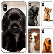 cocker spaniel puppy Popular Silicone Phone Case For Huawei Y6 Y5 2019 For Xiaomi Redmi Note 4 5 6 7