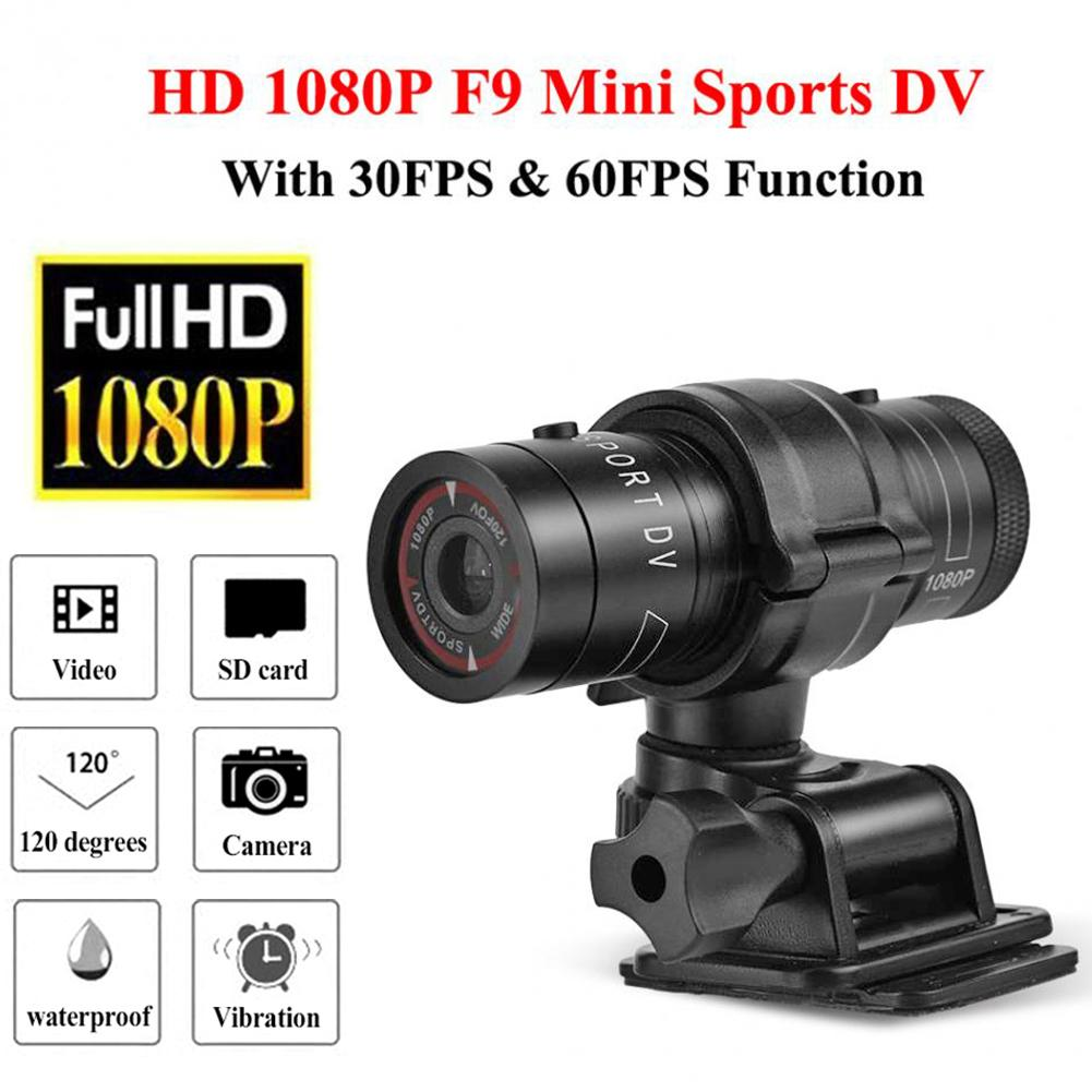 Full HD 1080P Mini Sports DV Camera Bike Motorcycle Helmet Action DVR Video Cam Perfect for Outdoor Sports