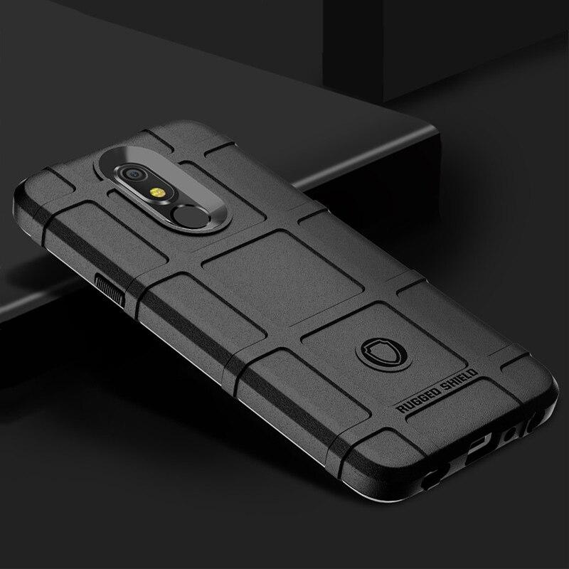 Funda de silicona para LG K20 K30 K40 2019 Armor Military Protect Heavy a prueba de golpes para LG X2 X4 (2019)