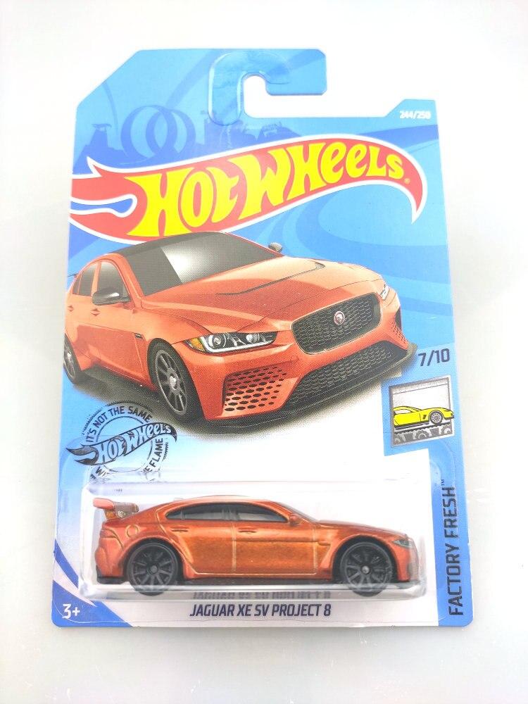 2019 ruedas calientes 1 64 NO.219-250 de coche MCLAREN ASTON MARTIN JAGUAR FORD DODGE Metal Diecast modelo coche niños juguetes regalo