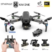kai one pro gps drone 8k dual camera 3 axis gimbal professional anti shake shoot brushless foldable quadcopter rc distance 1200m