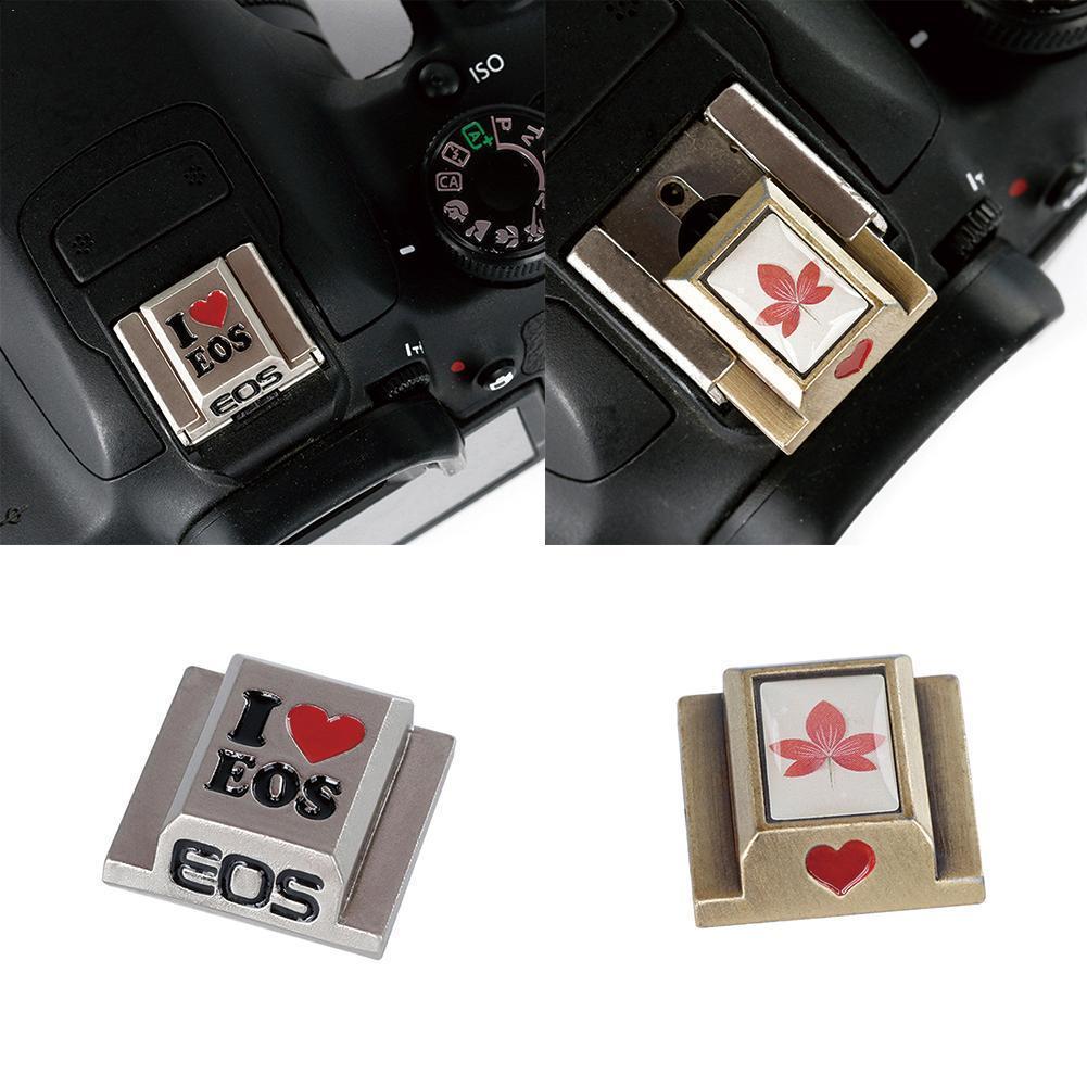 Metal Universal Hot Shoe Cover Cap For Canon Nikon Cameras DSLR 70D 80D Accessories Fuji 60D 800D D2B6