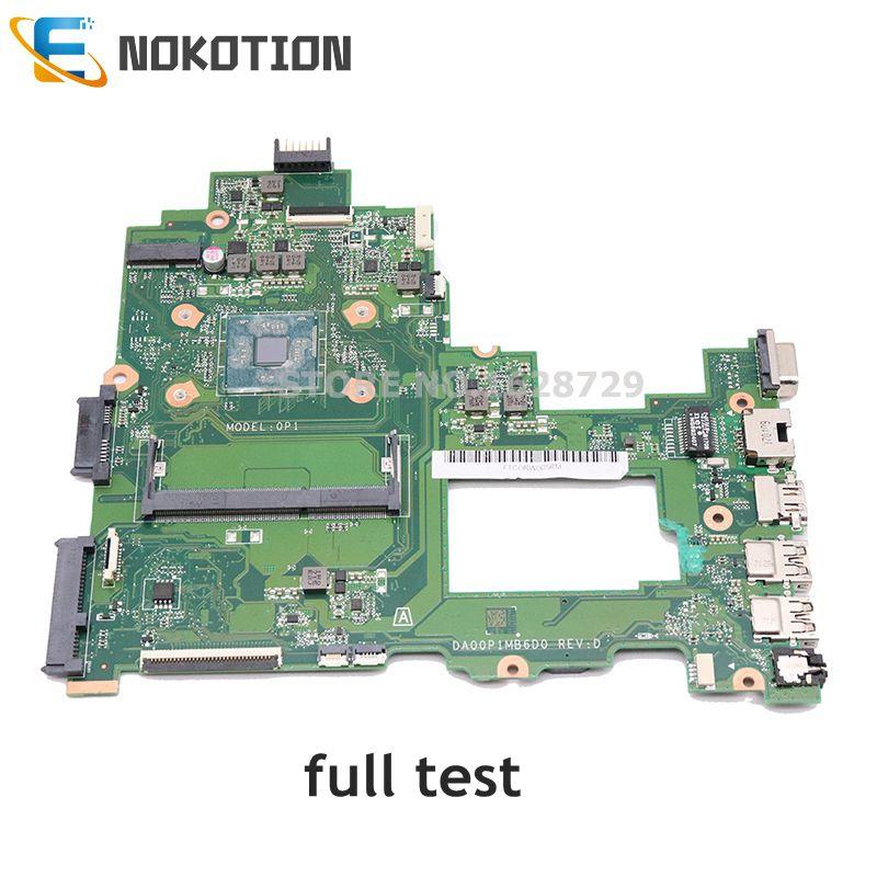 NOKOTION-اللوحة الرئيسية للكمبيوتر المحمول ، اللوحة الأم للكمبيوتر الدفتري HP 14-BS series 14-BS043N ، DDR3L ، DA00P1MB6D0