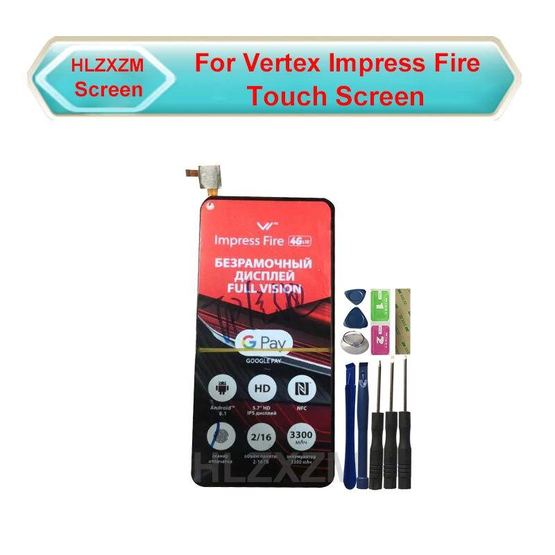 Para vértice Impress pantalla táctil de fuego sin pantalla LCD Sensor digitalizador reemplazo con herramientas