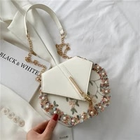 chain tassel womens bag summer pu leather shoulder bag fashion pearl lace crossbody bags for womn 2021 luxury design handbags