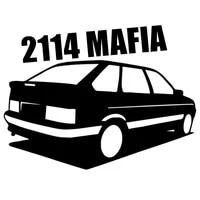 sf3212 2114 mafia reflective funny car sticker vinyl decal waterproof car auto stickers for bumper rear window