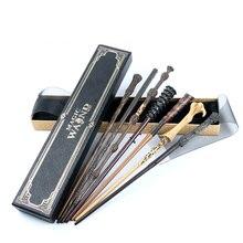 Harri Гермиона Грейнджер волшебные палочки Colsplay металл/Железный сердечник Дамблдор старая волшебная палочка детские игрушки для взрослых
