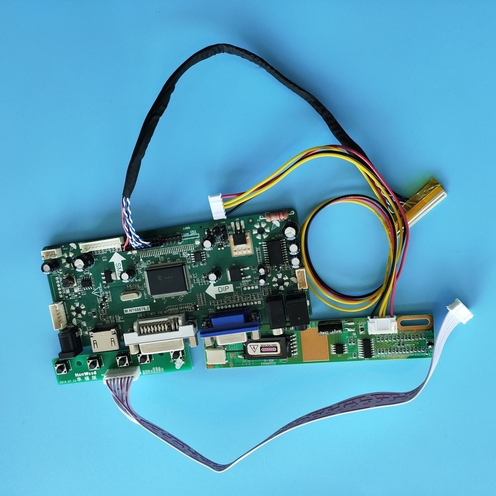 كيت ل LTN154U1-L02-V/LTN154U1-L03 1920x1200 M.NT68676 HDMI-متوافق + DVI + VGA LCD الصوت لوحة عرض 30pin المراقب المجلس