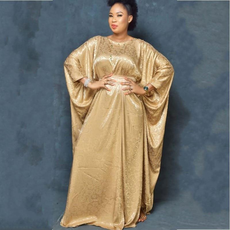 Super Size Nova Africano Dashiki das Mulheres Moda Solto Bordado Vestido Longo Vestido Africano Para As Mulheres Roupa Africana