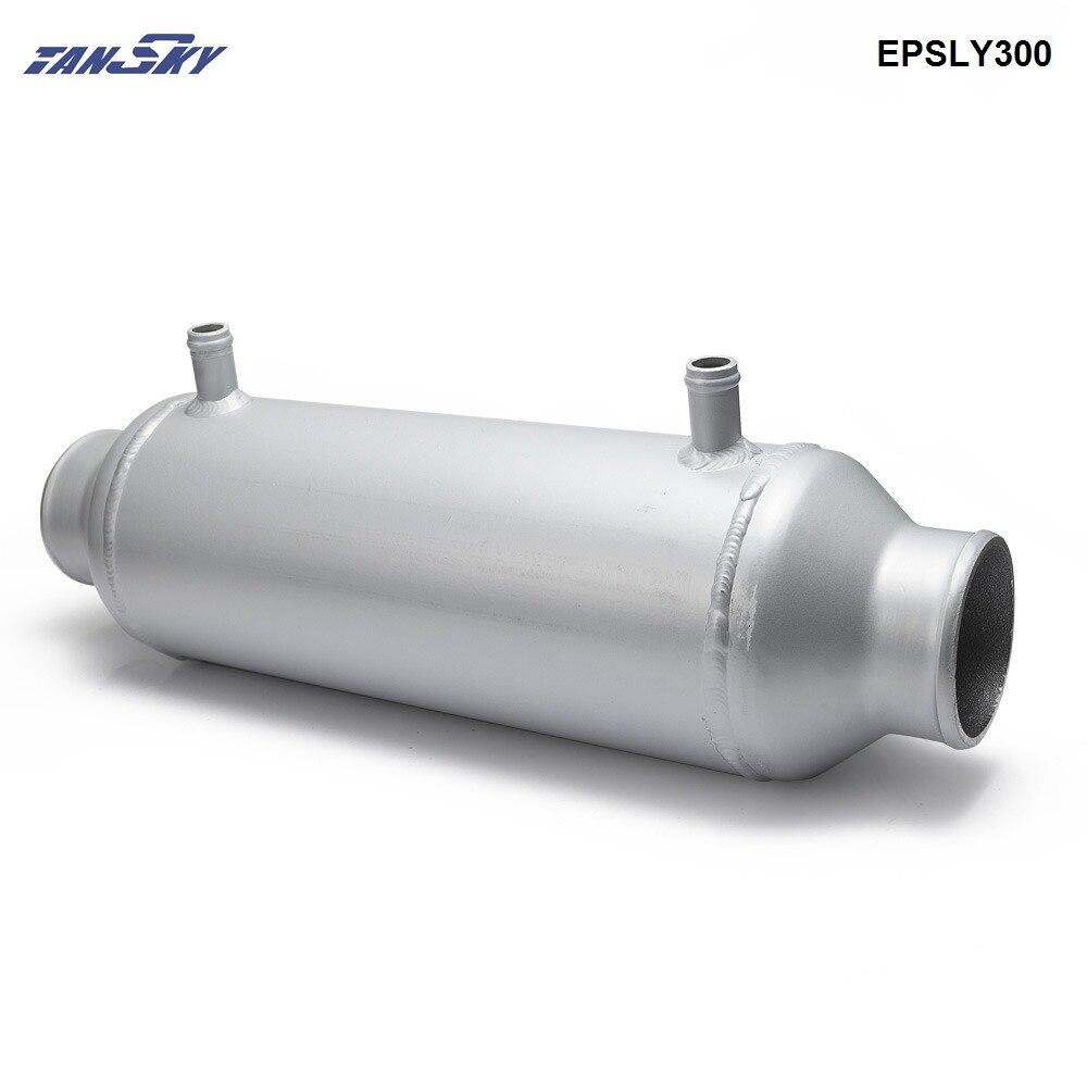 """Universal Platte Wasser Flüssigkeit Luftkühler 5 """"x 12"""" Barrel Turbo Auto Kühler Für Kompressor Turbo Auto EPSLY300"""