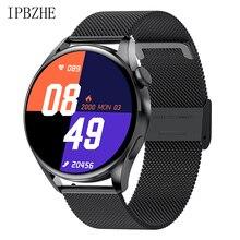 IPBZHE Smart Watch Men Bluetooth Call ECG Blood Oxygen Blood Pressure Reloj Inteligente SmartWatch W