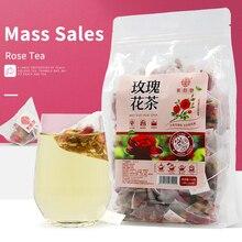 Qiao Yuntang Rose tea 150g torba trójkąt torba suszone płatki róż jadalna woda bańka herbata, herbata zdrowotna do krążenia krwi i bólu